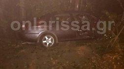 Αυτοκίνητο παρέσυρε πεζή στη Λάρισα και έπεσαν μαζί στο ποτάμι