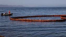 Ρύπανση στη θάλασσα στο Κερατσίνι από φορτηγό πλοίο