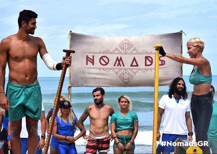 Nomads: Ο «τζέντλεμαν» που αποχώρησε για να μην τα βάλει με γυναίκα
