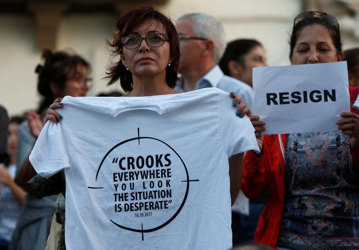 Οργή για τη δολοφονία της δημοσιογράφου των Panama Papers - εικόνα 5