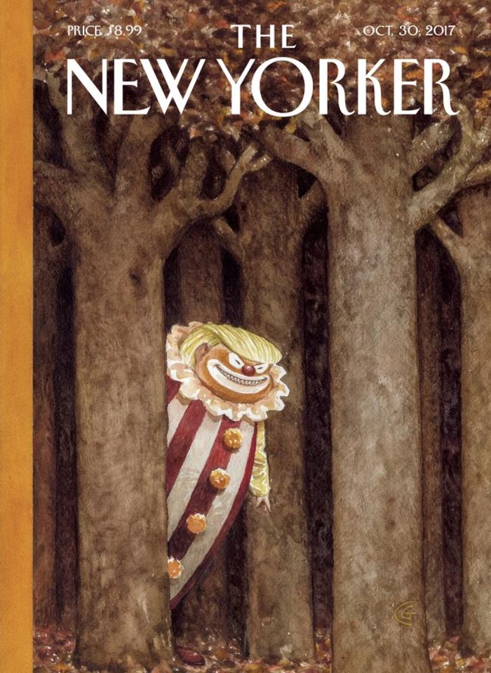 To εξώφυλλο του New Yorker