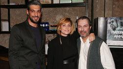 Ελεωνόρα Ζουγανέλη: Στο θέατρο με τον πολύ γοητευτικό σύντροφό της