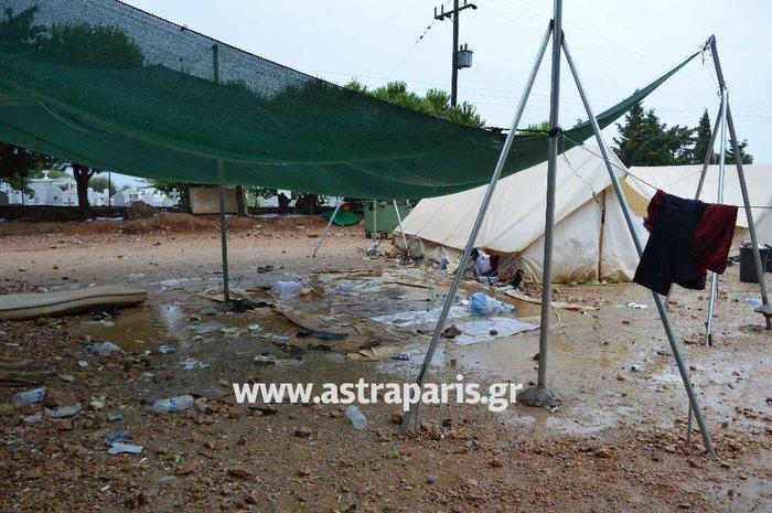 Εικόνες ντροπής στους προσφυγικούς καταυλισμούς του Β. Αιγαίου - εικόνα 2