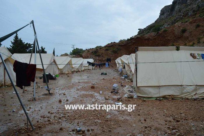 Εικόνες ντροπής στους προσφυγικούς καταυλισμούς του Β. Αιγαίου - εικόνα 3