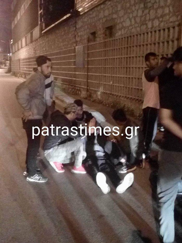 Μαχαίρωσαν μετανάστες στην Πάτρα-Ενας βαριά τραυματίας - εικόνα 3