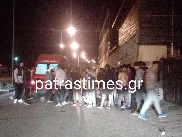 Μαχαίρωσαν μετανάστες στην Πάτρα-Ενας βαριά τραυματίας - εικόνα 4