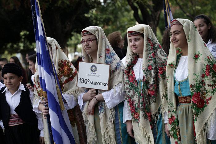 Η μεγάλη παρέλαση για την επέτειο του «ΟΧΙ» σε φωτογραφίες