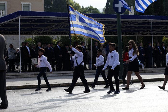 Η μεγάλη παρέλαση για την επέτειο του «ΟΧΙ» σε φωτογραφίες - εικόνα 5