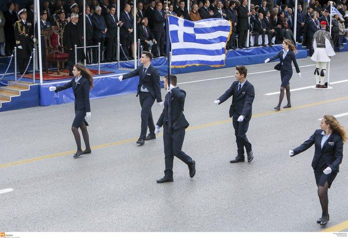 Η μεγάλη παρέλαση για την επέτειο του «ΟΧΙ» σε φωτογραφίες - εικόνα 16