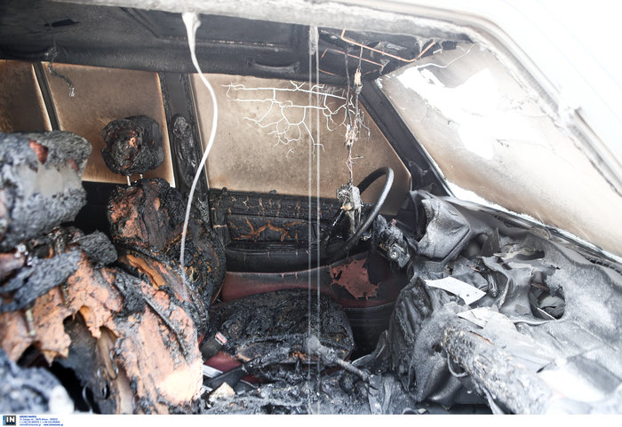 Ζωγράφου: Αντισπισιστές έκαψαν το τζιπ κυνηγού & ψυγείο κρεοπωλείου