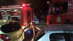 Φωτιά τα ξημερώματα σε ταβέρνα - Εκκενώθηκε διπλανή οικοδομή