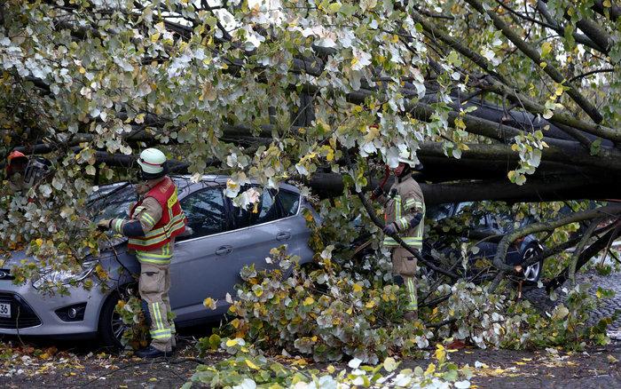 Ανεμοι 180 χλμ προκάλεσαν χάος και νεκρούς σε Γερμανία-Τσεχία - εικόνα 10