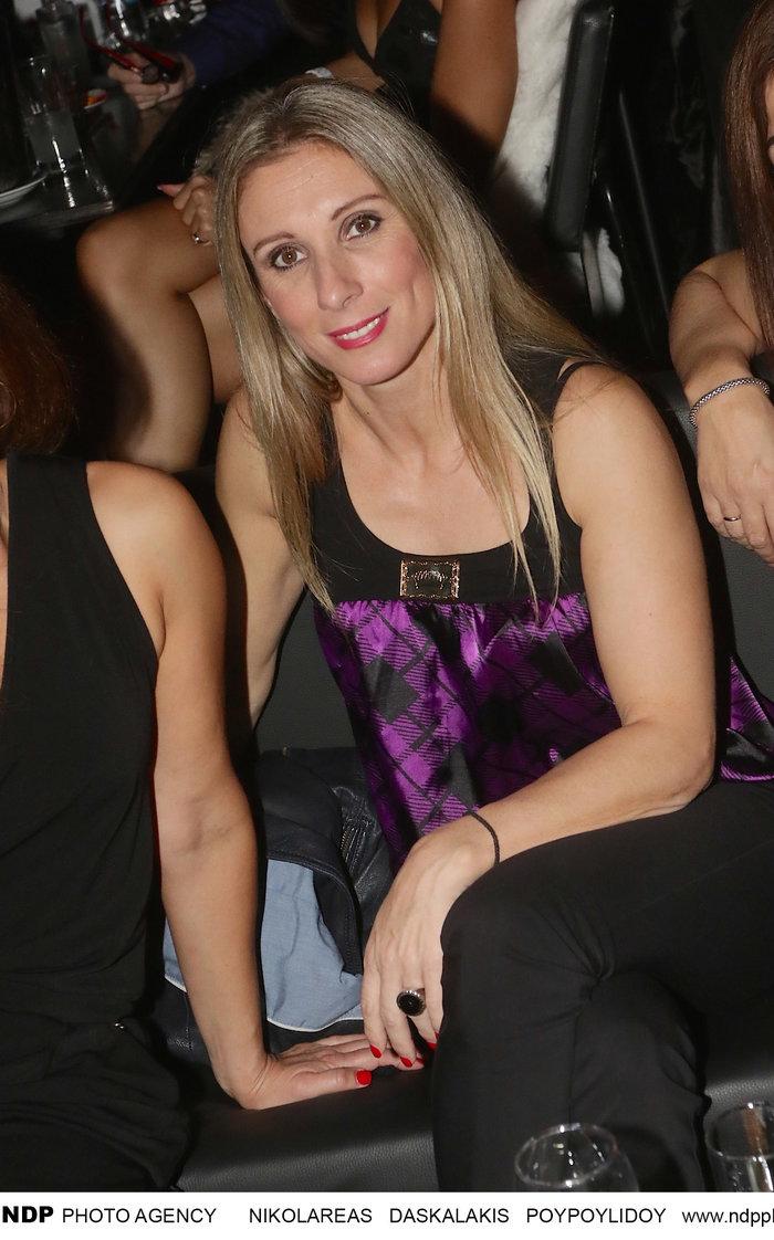 Κατερίνα Θάνου: Σπάνια βραδινή έξοδος ενάμιση χρόνο μετά το διαζύγιο