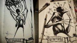 Οι χειρότερες φοβίες των ανθρώπων σε 7 συγκλονιστικά σκίτσα