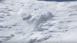 Χιονοστιβάδα εξαφανίζει ορειβάτες σε xιονοδρομική πίστα