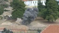 Ελεγχόμενη έκρηξη σε βλήμα του Β' Παγκοσμίου στην Γλυφάδα