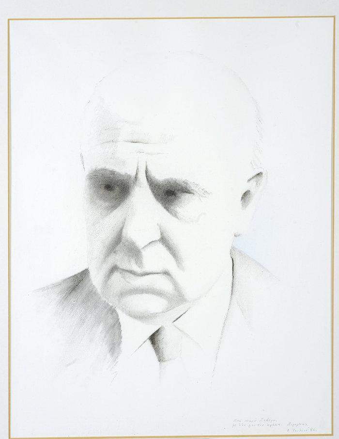 Πορτρέτο του Γιώργου Σεφέρη,Σωτήρης Σόρογκας