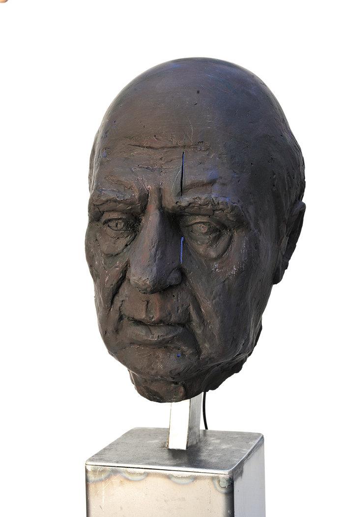 Κεφάλι Γιώργου Σεφέρη, 2017 Απόστολος Φανακίδης