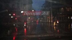 Υπερκαταιγίδα έπληξε την Πάτρα - Χαλάζι στην Αργολίδα (ΦΩΤΟ-ΒΙΝΤΕΟ)
