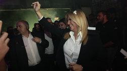Φώφη Γεννηματά: Οι selfies και τα χαμόγελα στο club Socialista στο Γκάζι