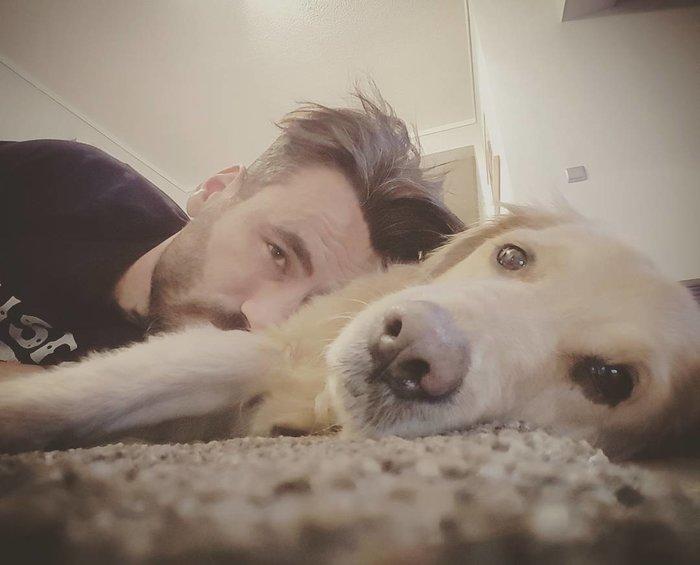 """Συντετριμμένος ο Γιώργος Μαυρίδης: Πέθανε η Μόλυ, η σκυλίτσα του - """"Καλό ταξίδι Πριτζηπέσσα μου"""" - εικόνα 6"""
