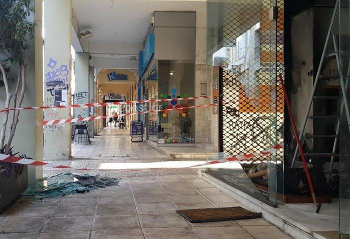 Πάτρα: Αντισπισιστές έσπασαν & έκαψαν κρεοπωλείο & μαγαζί με γούνες video