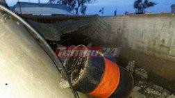 Παραλίγο τραγωδία: Τσιμεντένιο γεφύρι καταπλάκωσε 6 παιδιά