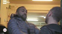 Μαφιόζος επιτίθεται σε δημοσιογράφο της RAI - Video