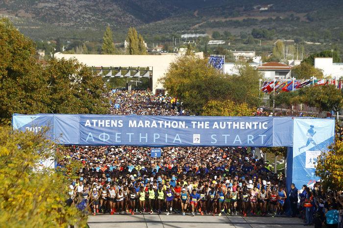 35ος Μαραθώνιος: Υπέροχα στιγμιότυπα από τη μεγάλη γιορτή της Αθήνας