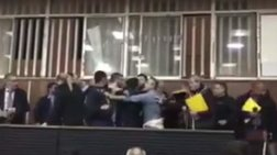 Χαμός στο Εργατικό Κέντρο Πάτρας -Συνδικαλιστές πιάστηκαν στα χέρια