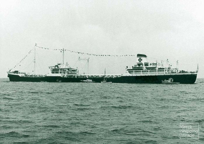 Το Ασπασία Νομικός, το πρώτο μεταπολεμικό δεξαμενόπλοιο