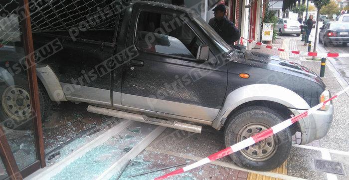 «Μπούκα» με θράσος σε κοσμηματοπωλείο στη Γαστούνη φωτό