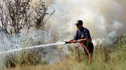 Πέθανε προσπαθώντας να σβήσει φωτιά που έβαλε στο χωράφι του