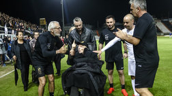 Το συγκινητικό αντίο στον Γκέραρντ στο γήπεδο του ΟΦΗ (φωτό - βίντεο)
