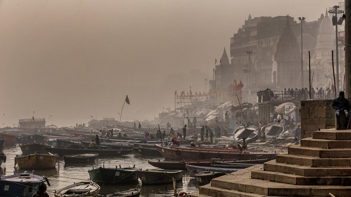 Felipe de Castro Horta Hoffmann Martins –Ποταμός Γάγης, Ινδία