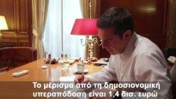 Έφτιαξαν και βίντεο κλιπ με τον Τσίπρα για το κοινωνικό μέρισμα