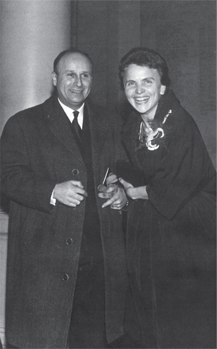 Με τον άντρα της Ζακ Αρβελέρ