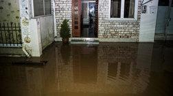 «Λίμνες» από τις πλημμύρες Πρέβεζα & Αγρίνιο
