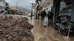 Τις πληγές της μετρά η Δυτική Ελλάδα μετά τη θεομηνία
