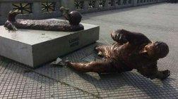 Κατέστρεψαν γλυπτό του Μέσι στο Μπουένος Άιρες