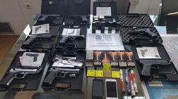 Συνέλαβαν 38χρονο που πουλούσε μέσω ίντερνετ όπλα και σφαίρες!
