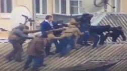 Η επιχείρηση σύλληψης του Μιχαήλ Σαακασβίλι-Απειλούσε να πέσει από τη στέγη