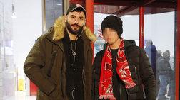 Άγγελος Λάτσιος: Ο γιος της Μενεγάκη στο γήπεδο με τον θείο του [Εικόνες]