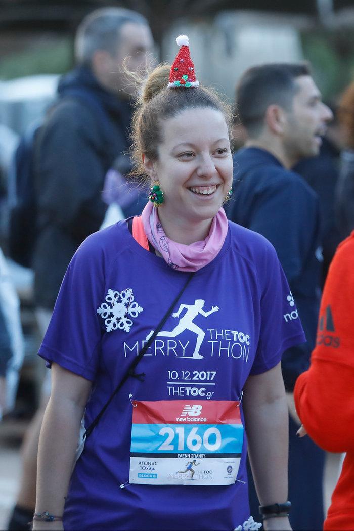 «Χωρίς να τρέξω στο TheTOC Merrython δεν κάνω Χριστούγεννα», μας είπε η Ελένη