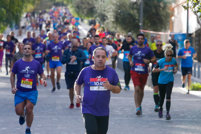 Στιγμιότυπο από την τελική ευθεία του τερματισμού