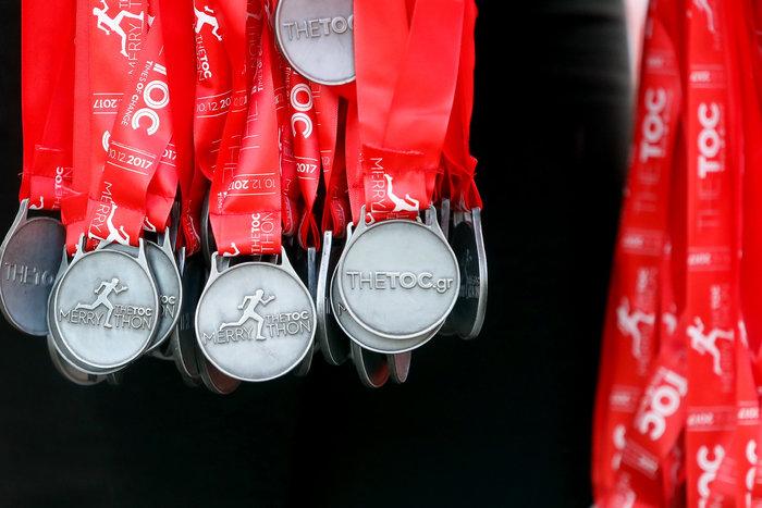 Τα μετάλλια του αγώνα