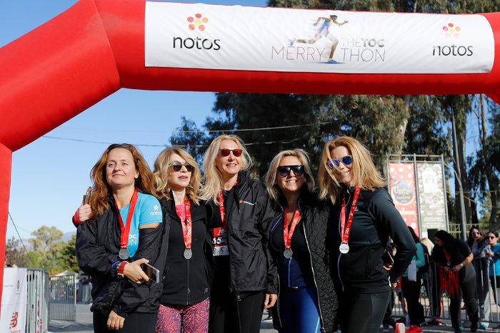 (Από αριστερά) Ευγενία Πλώτα, Ελλη Στάη, Χριστίνα Παπαέλληνα, Ελίνα Μαμμή, Φωτεινή Φαρμάκη