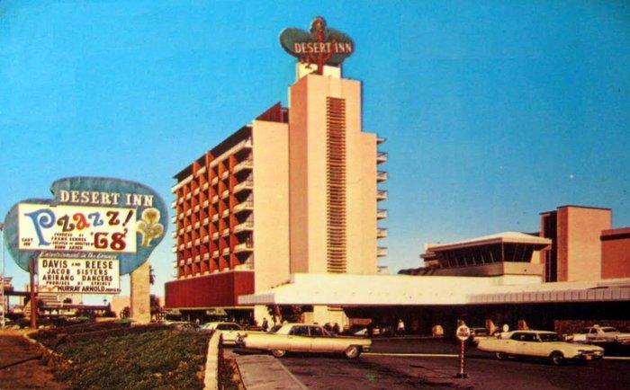 Το Dasert Inn στο Λας Βέγκας όπου ο Σινάτρα ξεκίνησε να τραγουδά το 1951