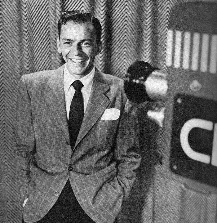 Ο Φρανκ Σινάτρα στο Metronome Mafazine (1950)