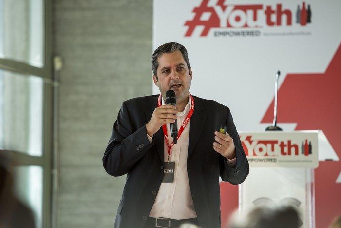 Δημήτρης Μεταξάς, διευθυντής εκπαίδευσης του τμήματος πωλήσεων της Coca-Cola Τρία Έψιλον για Ελλάδα και Κύπρο